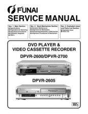 Buy Funai DPVR-2700 SERVICE MANUAL Manual by download Mauritron #185137