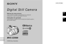 Buy SONY MVC-CD500 OPERATING GUIDE by download #167104