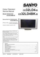 Buy Sanyo CE32LD4BK-B-00 SM Manual by download #173284