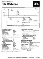 Buy INFINITY R82 RADIANCE TS Service Manual by download #147652