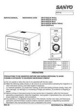 Buy Sanyo Service Manual For EM-S052 DOOR GAP Manual by download #175835