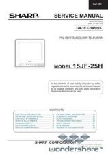Buy Sharp 15JF25H SM GB(1) Manual.pdf_page_1 by download #177784