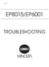 Buy Minolta EP6001 TROUBLE Service Schematics by download #138099