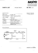 Buy Sanyo SC-180(PL6510308) Manual by download #175191
