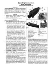 Buy Meade Night View Instruction Manual by download Mauritron #194785