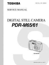 Buy Toshiba PDRT30 Manual by download #172271