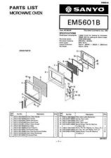 Buy Sanyo Service Manual For EM-SL30-02 Manual by download #175897