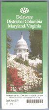 Buy DE Delaware, District of Columbia, Maryland, Virginia Road Map map_box1~9