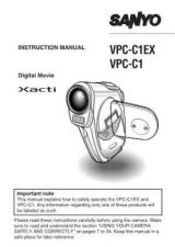 Buy Sanyo VM-LC200P Operating Guide by download #169692