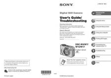 Buy SONY SONY W5 MANUAL OPERATING GUIDE by download #167181