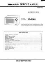 Buy SHARP R240A Service Data by download #133885