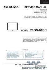 Buy Sharp 70GS61SC SM GB(1) Manual.pdf_page_1 by download #178861
