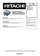 Buy HITACHI No 0502E Service Data by download #147282