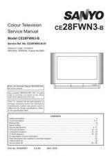Buy Sanyo CE28FWN3-B-01 SM Manual by download #173142