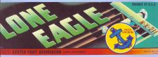Buy CA Exeter Fruit Crate Label Lone Eagle Exeter Fruit Association~14