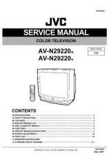 Buy JVC AV-N29220 TECHNICAL DATA by download #130600