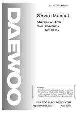 Buy Daewoo R63CS2A001(r) Manual by download #168882