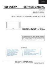Buy Sharp 32HW53H CD GB Manual by download #170017