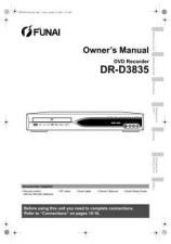 Buy Funai DR-D3835 E7B24ED EN 0113 BYR1 Owners User Guide Operating by download #162
