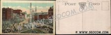 Buy CT New London Postcard Soldier's & Sailor's Monument & View Of State Stree~2214