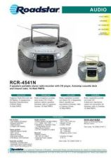 Buy ROADSTAR RCR-4541N by download #128471