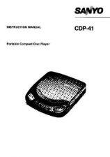 Buy Sanyo CDP-38 Manual by download #171389