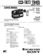 Buy SONY CCD-TR403 Service Manual by download #166391