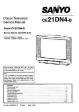 Buy Sanyo CE21DN4-B-01 SM-Only Manual by download #172921