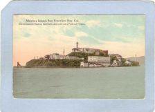 Buy CA San Francisco Lighthouse Postcard Alcatraz Island w/lighthouse lighthou~49
