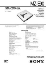 Buy SONY MZ-E310 OPERATION MANUAL by download #128933