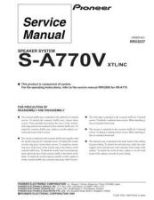 Buy PIONEER R2037 Service Data by download #153084
