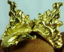 Buy Legendary Naga Serpent two heads Brass Ring Size FREE