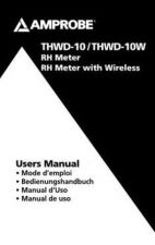 Buy Amprobe THWD10W Operating Guide User Instructions by download Mauritron #194532