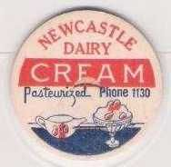 Buy CAN Newcastle Milk Bottle Cap Name/Subject: Newcastle Dairy Cream~198