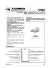 Buy SEMICONDUCTOR DATA TDA3300J Manual by download Mauritron #190693