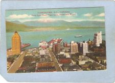 Buy CAN Vancouver Postcard View From Hotel Vancouver Panorama Room can_box1~163