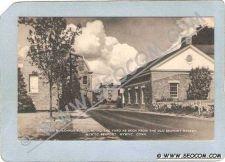 Buy CT Mystic Postcard Mystic Seaport Group Of Buildings Surrounding The Yard ~1542