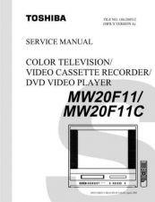 Buy TOSHIBA MW20F11 MW20F11C SVM Service Schematics by download #160289