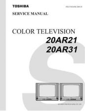 Buy TOSHIBA 20AR21 20AR31 Service Manual by download #167336