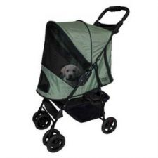 Buy Pet Gear Happy Trails Pet Stroller Sage