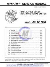 Buy Sharp ARC260 CD GB Manual by download #179519