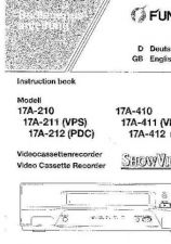 Buy Funai 17A-410 411 412(DE) TEIL1 Manual by download #160811