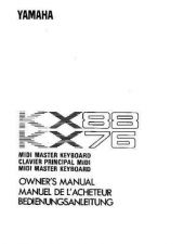 Buy Yamaha KX5E Operating Guide by download Mauritron #203779