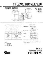 Buy SONY F-VK800 Service Manual by download #166834
