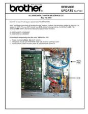 Buy Brother SU P1081 88 SERVICE C3 Service Schematics by download #134932