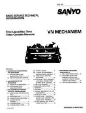 Buy Sanyo Service Manual For MECHANISM VN Manual by download #175955