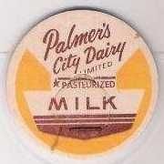 Buy CAN maverick Milk Bottle Cap Name/Subject: Palmer's City Dairy Limited~216