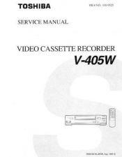 Buy MODEL V-705W Service Information by download #124976
