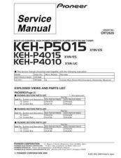 Buy PIONEER C2635 Service Data by download #149021