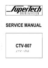 Buy Sony CTV 806 TV Service Manual by download Mauritron